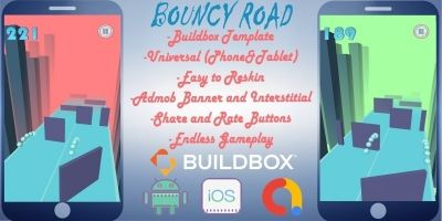 Bouncy Road Buildbox 3 Project