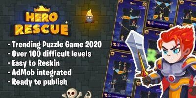 Hero Rescue 2 - Unity Source Code