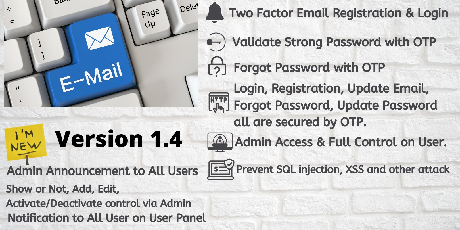 Twofactor Email Registration And Login With OTP