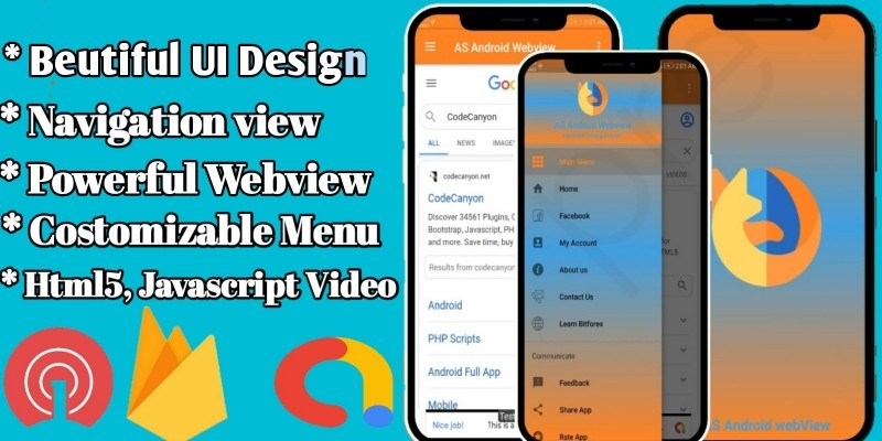 New Year Webview - Android WebView Template
