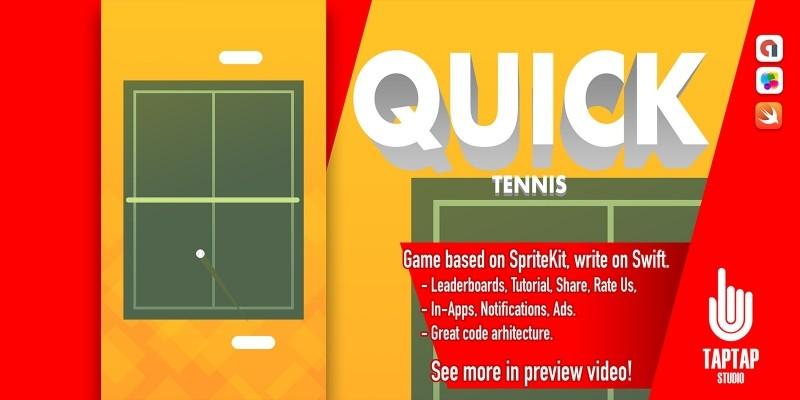 Quick Tennis - iOS Source Code