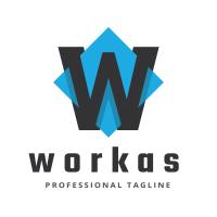 Workas Letter W Logo