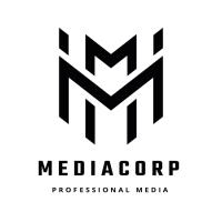 Media Corp Letter M Logo