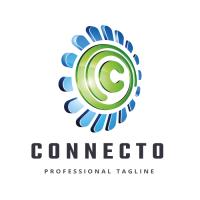 Connecto Letter C Logo