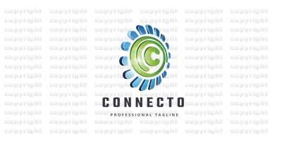 Connecto Letter C Logo