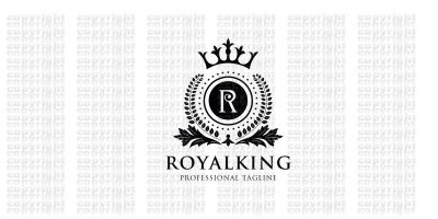 Royal King Letter R Logo