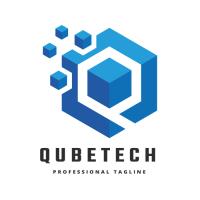Qube Tech Q Letter Logo