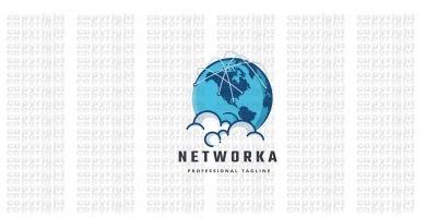 Network Cloud Data Logo