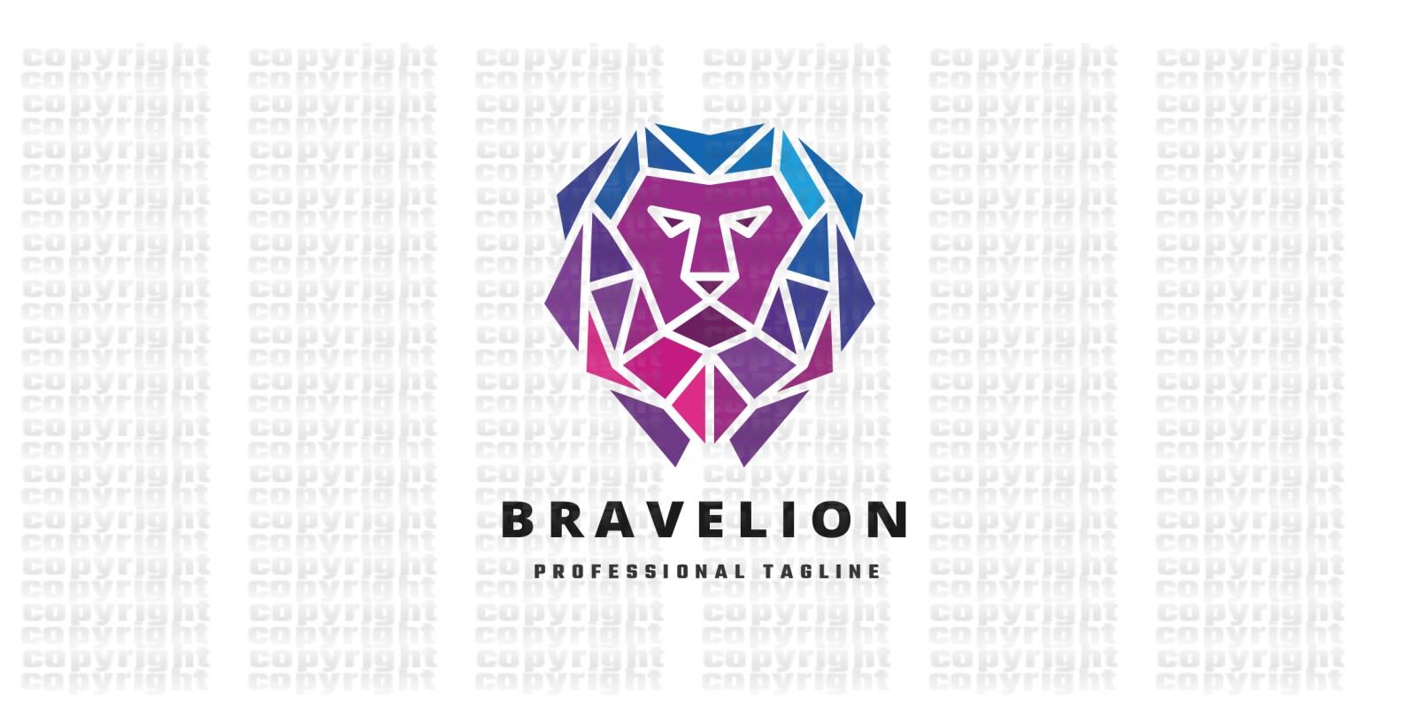 Brave Lion Logo