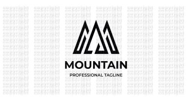 Mountain Letter M Logo
