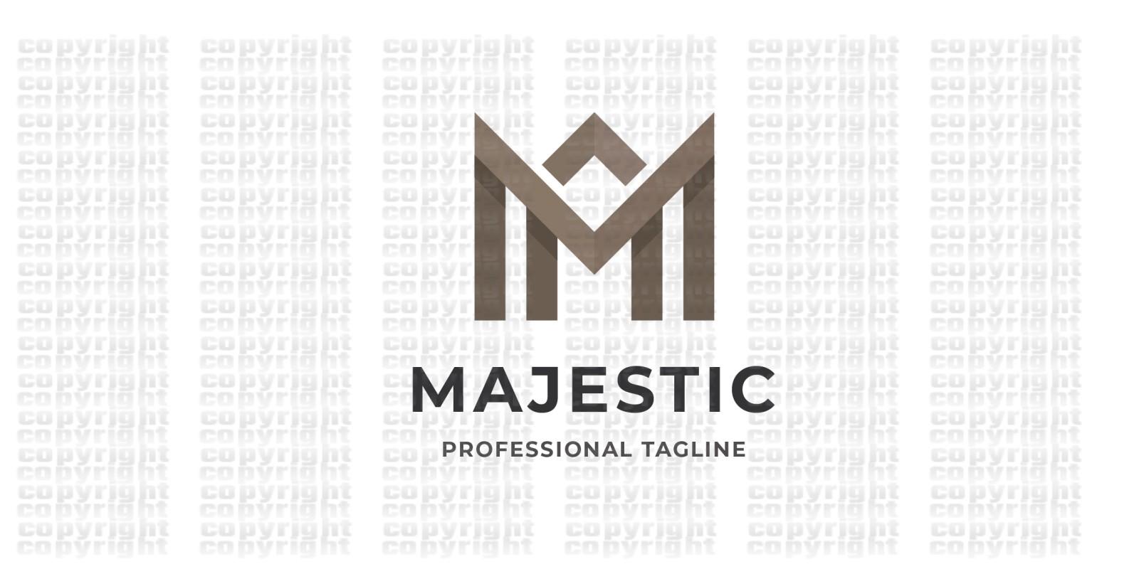 Majestic Letter M Logo