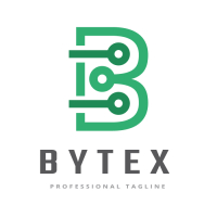 Bytex Letter B Logo