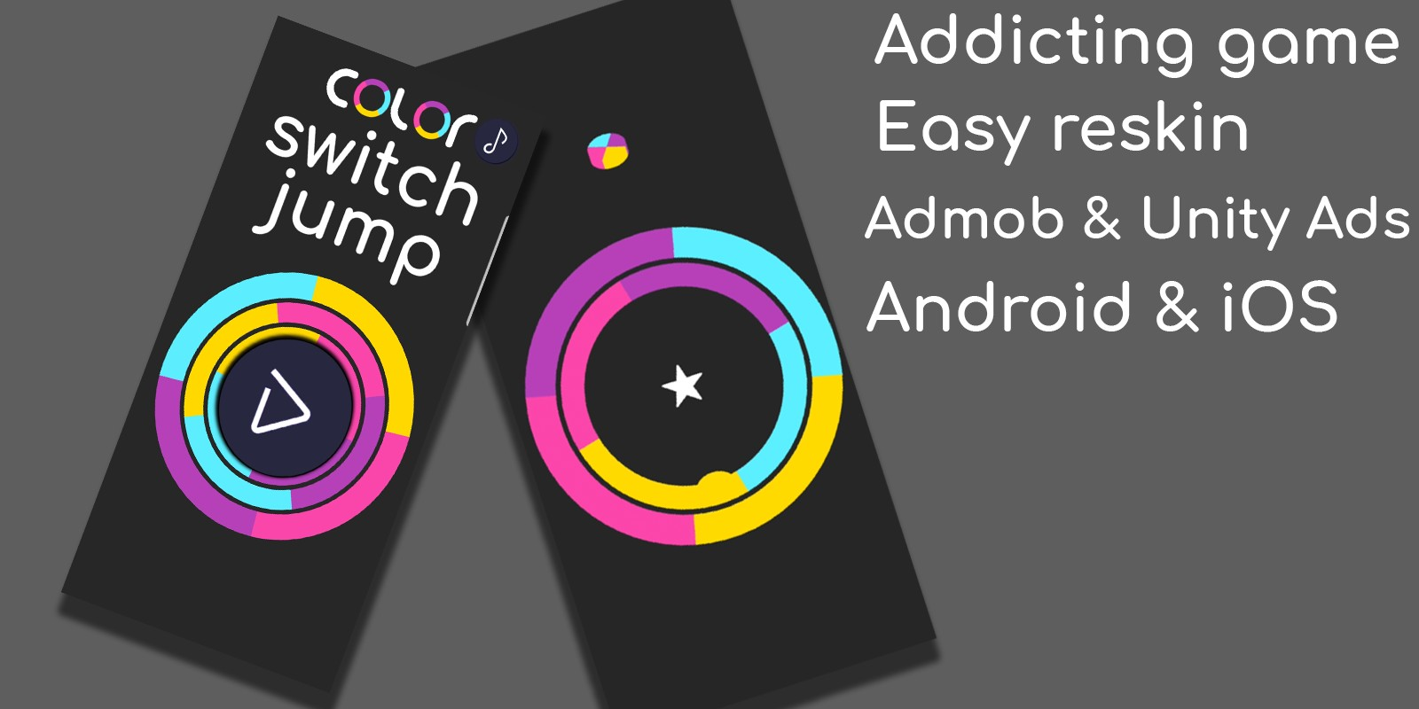 Color Switch Jump Unity Game