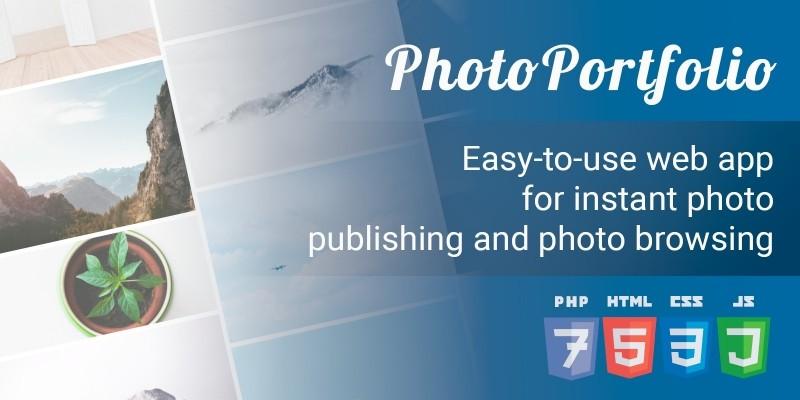 PhotoPortfolio PHP Script