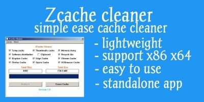 ZCache Cleaner