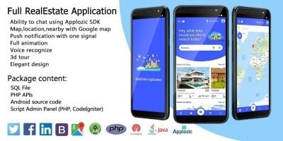 Full Real Estate Application Android Source Code