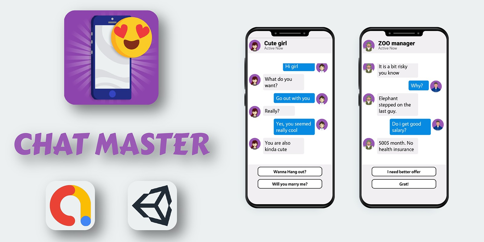Chats Master - Unity Source Code