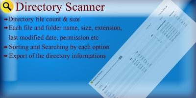 Directory Scanner PHP Script