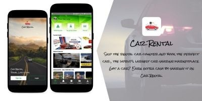 Hire Car App Solution - Android Source Code
