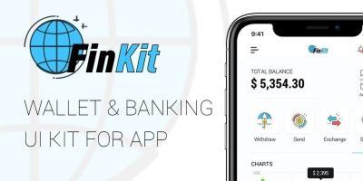 FinKit - Wallet And Banking App UI Kit