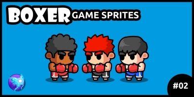 Boxer Game Sprites 02