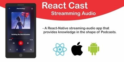 React Cast - Streaming Audio