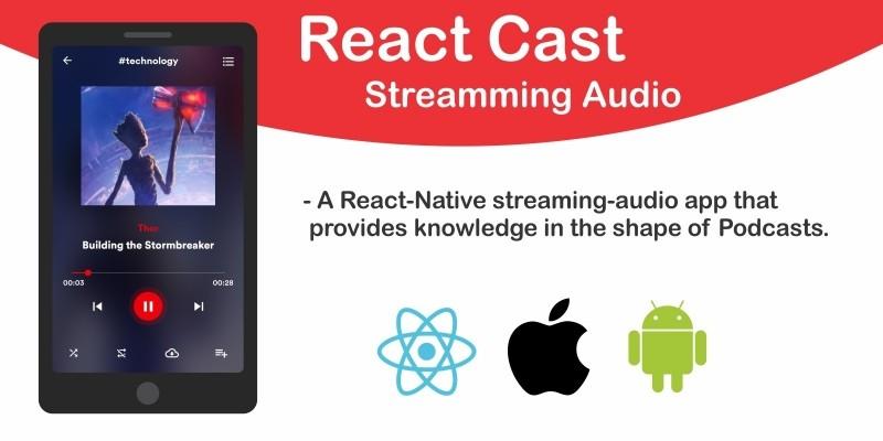 React Cast - Streaming Audio