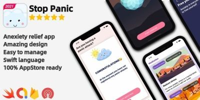 Panic Attack Meditation - iOS Full Project