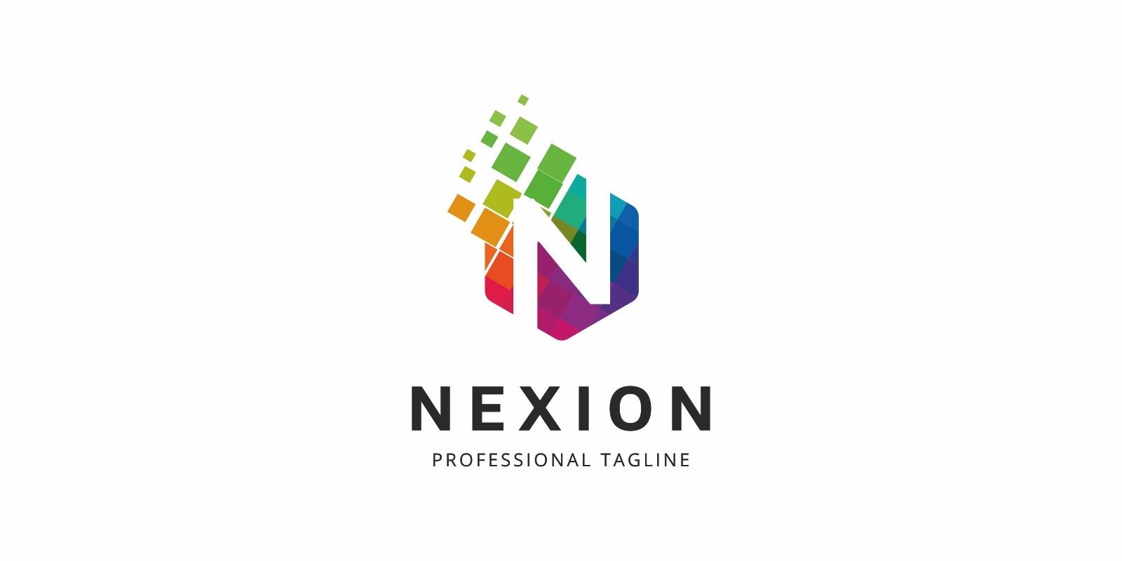 Colorful N Letter Logo