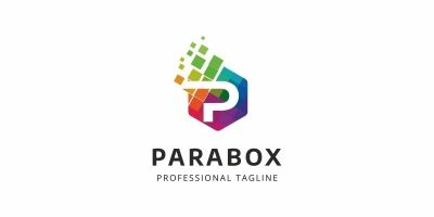 Colorful P Letter Logo