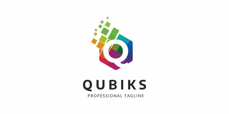 Colorful Q Letter Logo