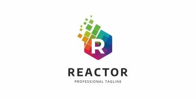 Colorful R Letter Logo
