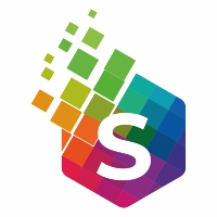 Colorful S Letter Logo