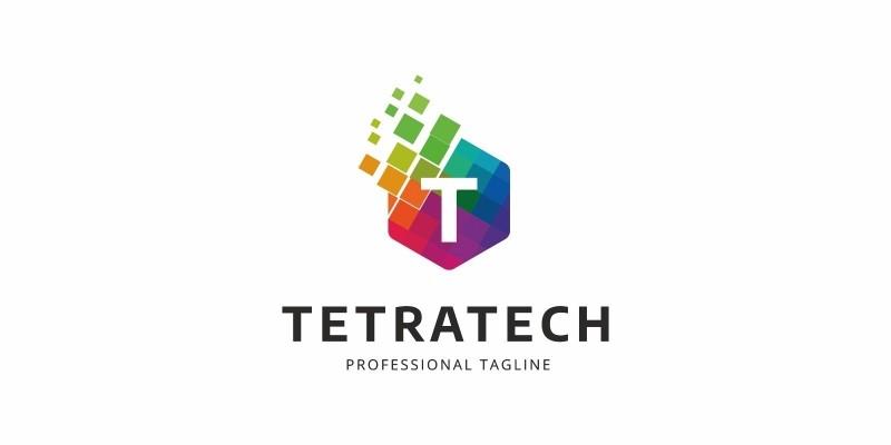 Colorful T Letter Logo