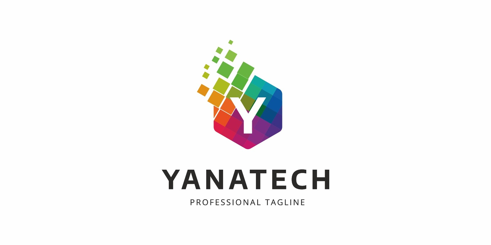 Colorful Y Letter Logo