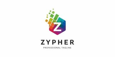 Colorful Z Letter Logo