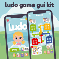 Ludo Game GUI Assets Kit