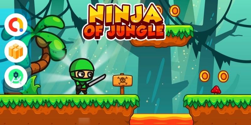 Ninja of Jungle - Full Buildbox Game