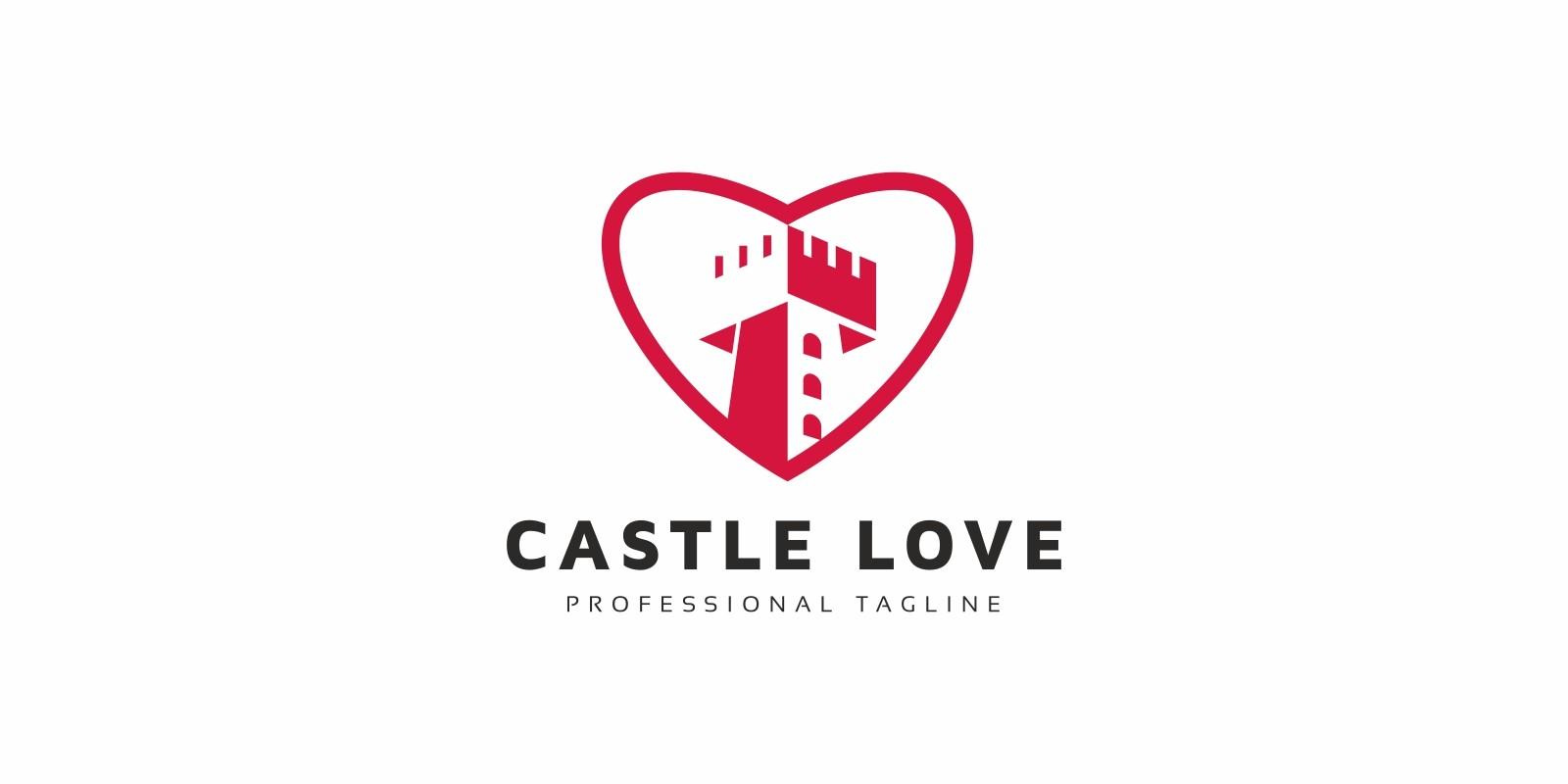 Castle Love Logo