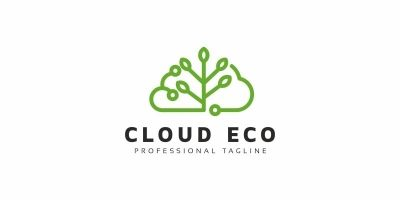 Cloud Eco Logo