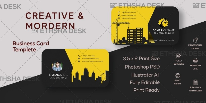 Nice And Simple Business Card Design