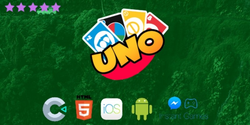Uno Card Game Multiplayer - Construct 3 Template
