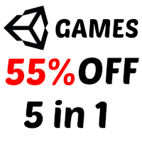 5 Unity Casual Game In 1 Bundle