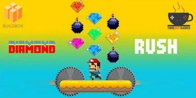Diamond Rush - Full Buildbox Game