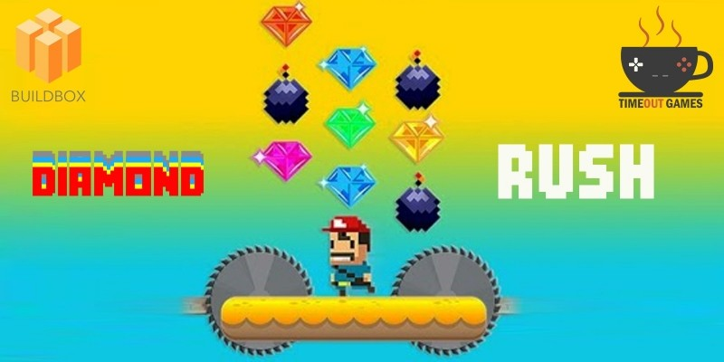 Diamond Rush - Full Buildbox Game
