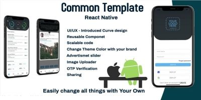 Common Template - React Native