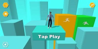 Parkour 3D - Buildbox Game Template