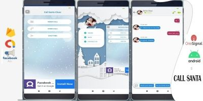Talk With Santa - Android Studio Template