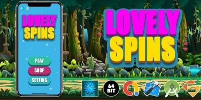 ​Lovely Spins - Buildbox Template