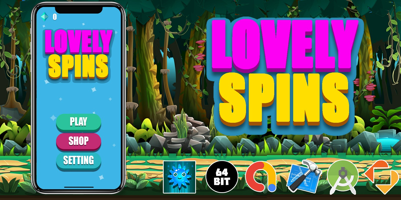 Lovely Spins - Buildbox Template
